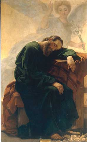 St Joseph sleeping and a prayer for work